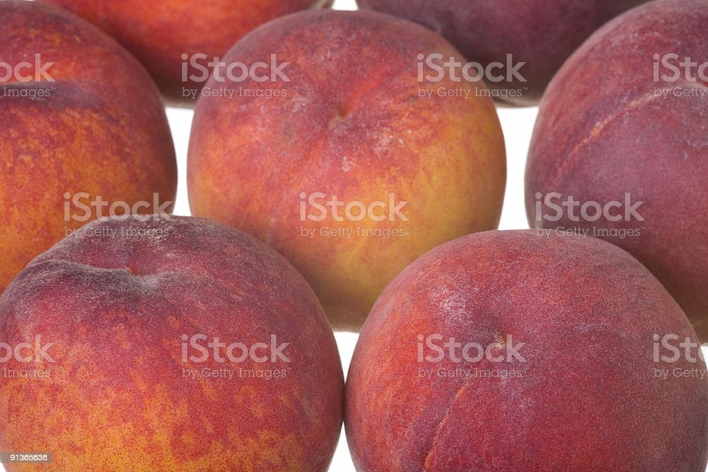 peach fruits royalty-free stock photo