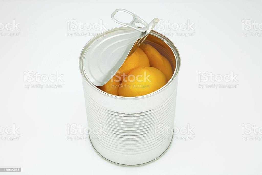 peach in conserve stock photo