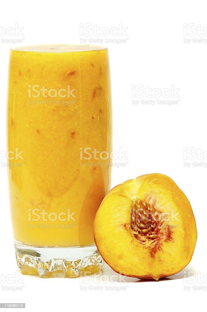 Peach Smoothie royalty-free stock photo