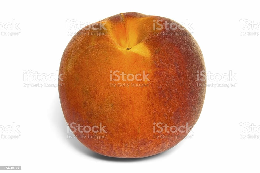 Peach standing royalty-free stock photo