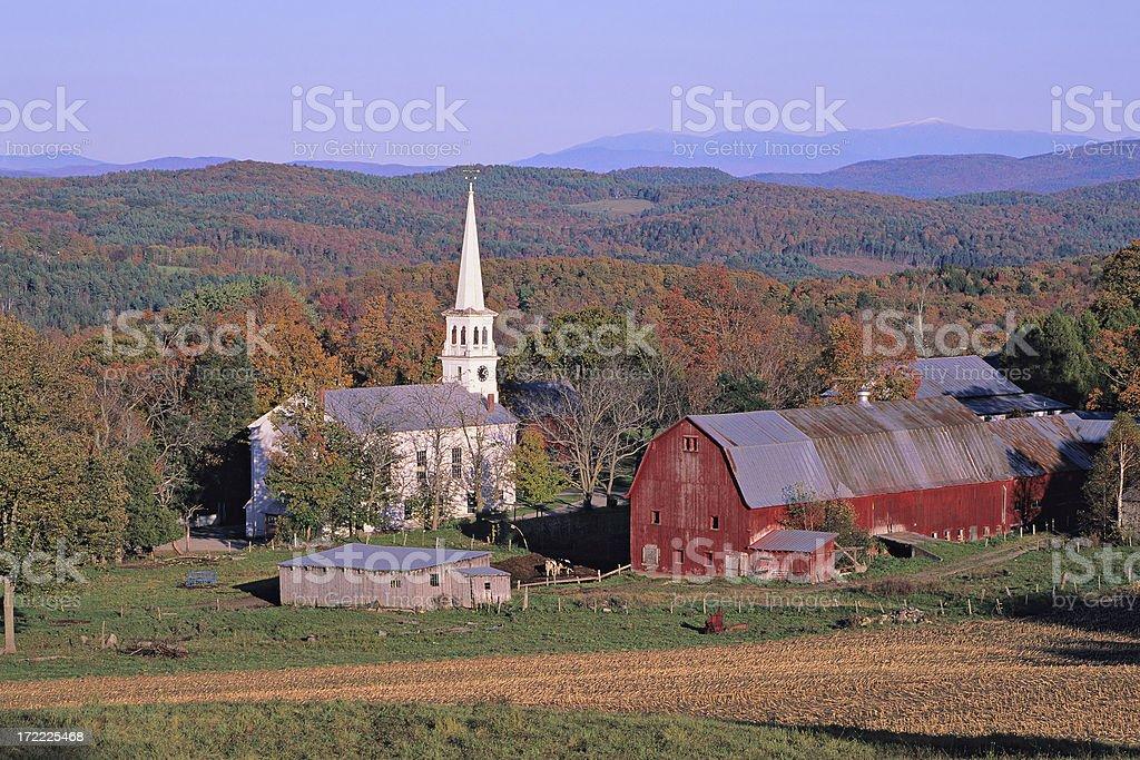 Peacham Vermont royalty-free stock photo