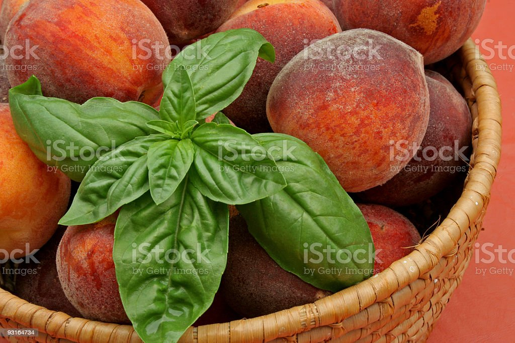 Peaches and Herb stock photo