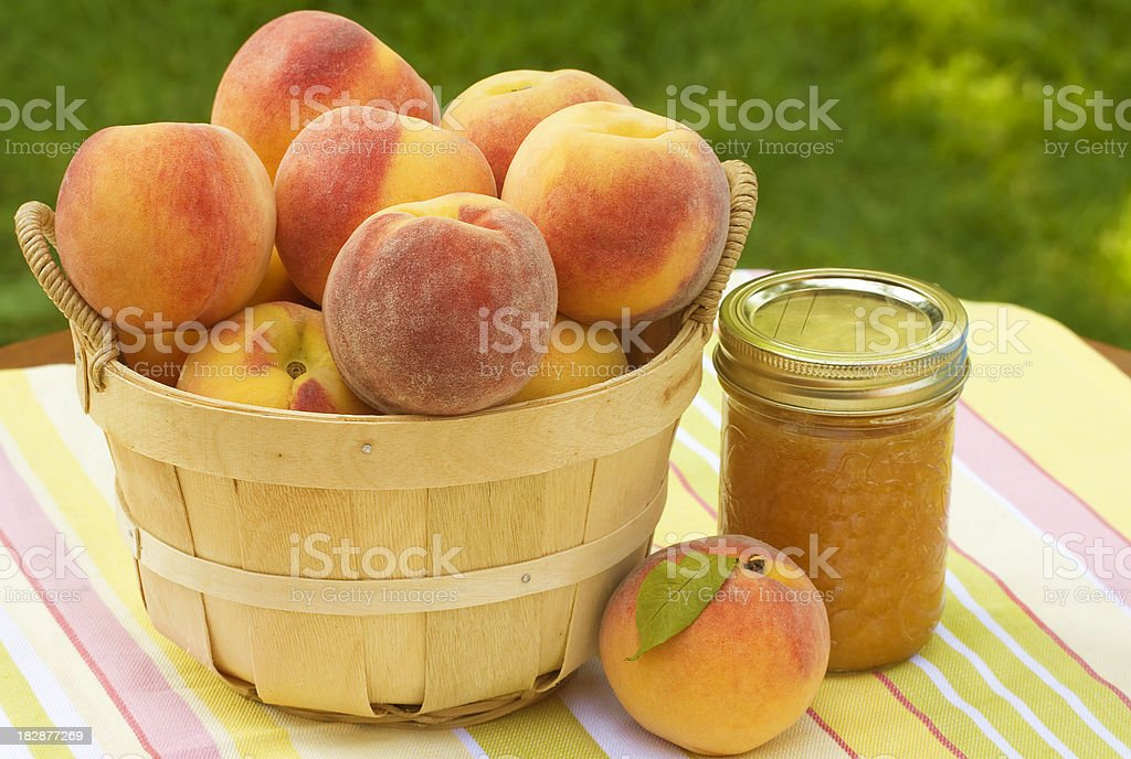 Peaches and Preserves stock photo