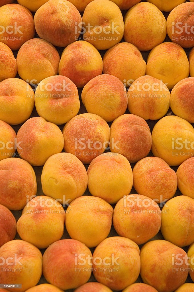 peaches background royalty-free stock photo