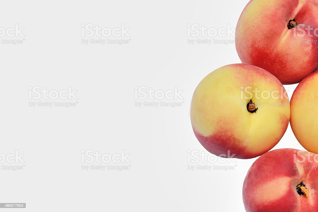Peaches stock photo