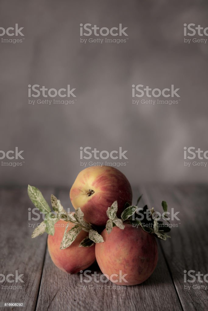 Peaches! stock photo