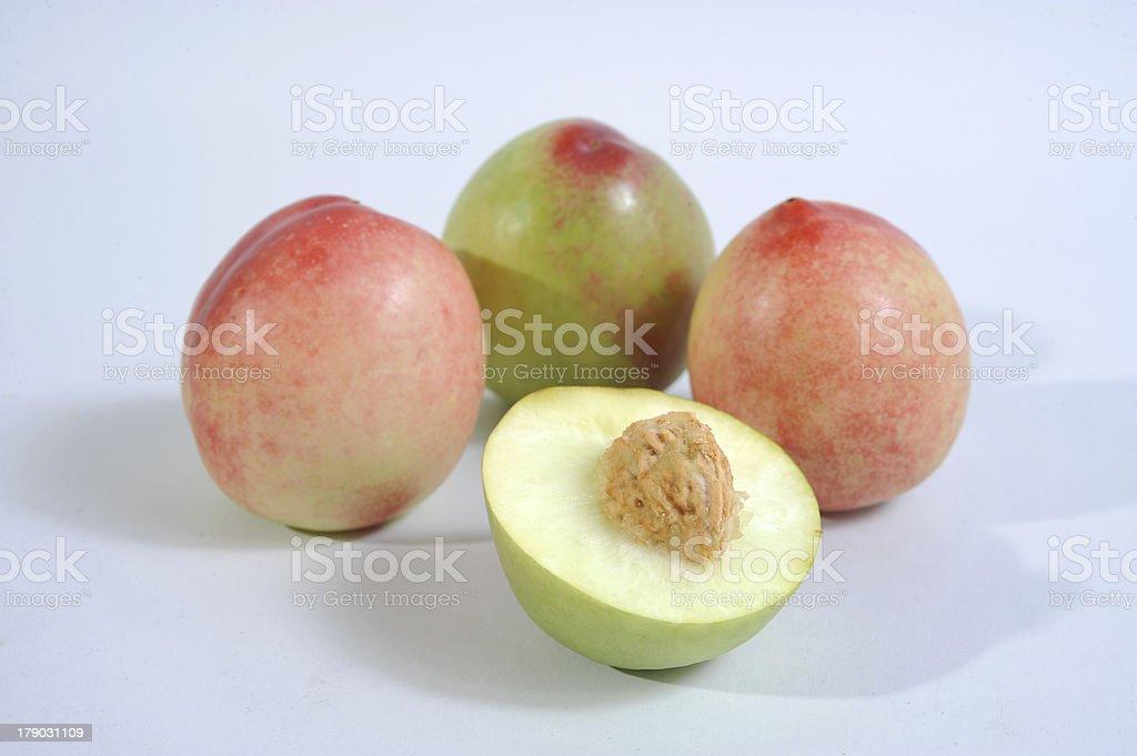 Peachs royalty-free stock photo