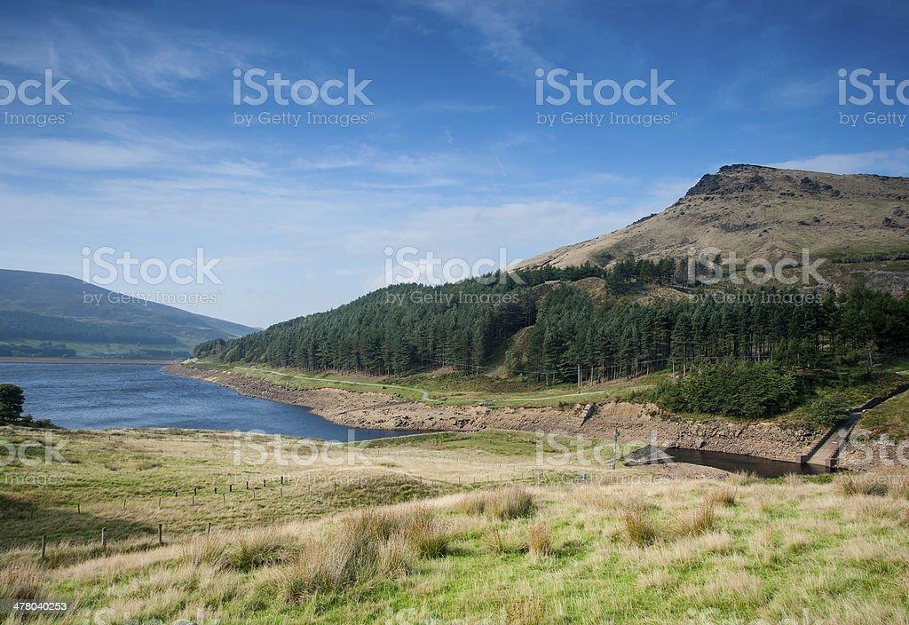 peak district landscape stock photo
