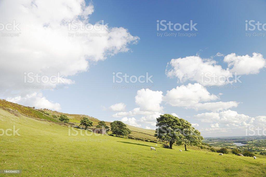 Peak District Landscape, UK stock photo