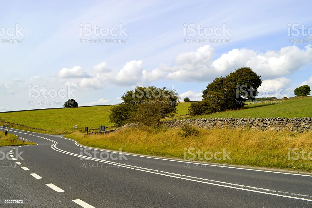 Peak District National Park in Derbyshire, England UK stock photo