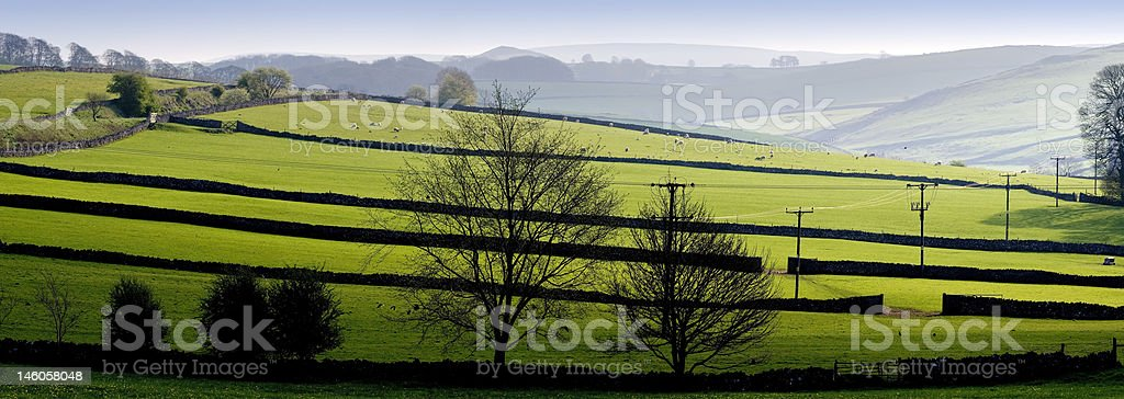 peak district royalty-free stock photo
