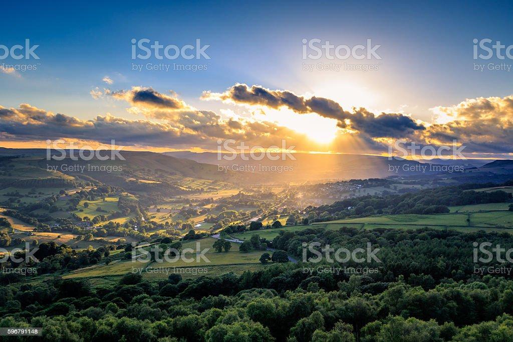 Peak District stock photo