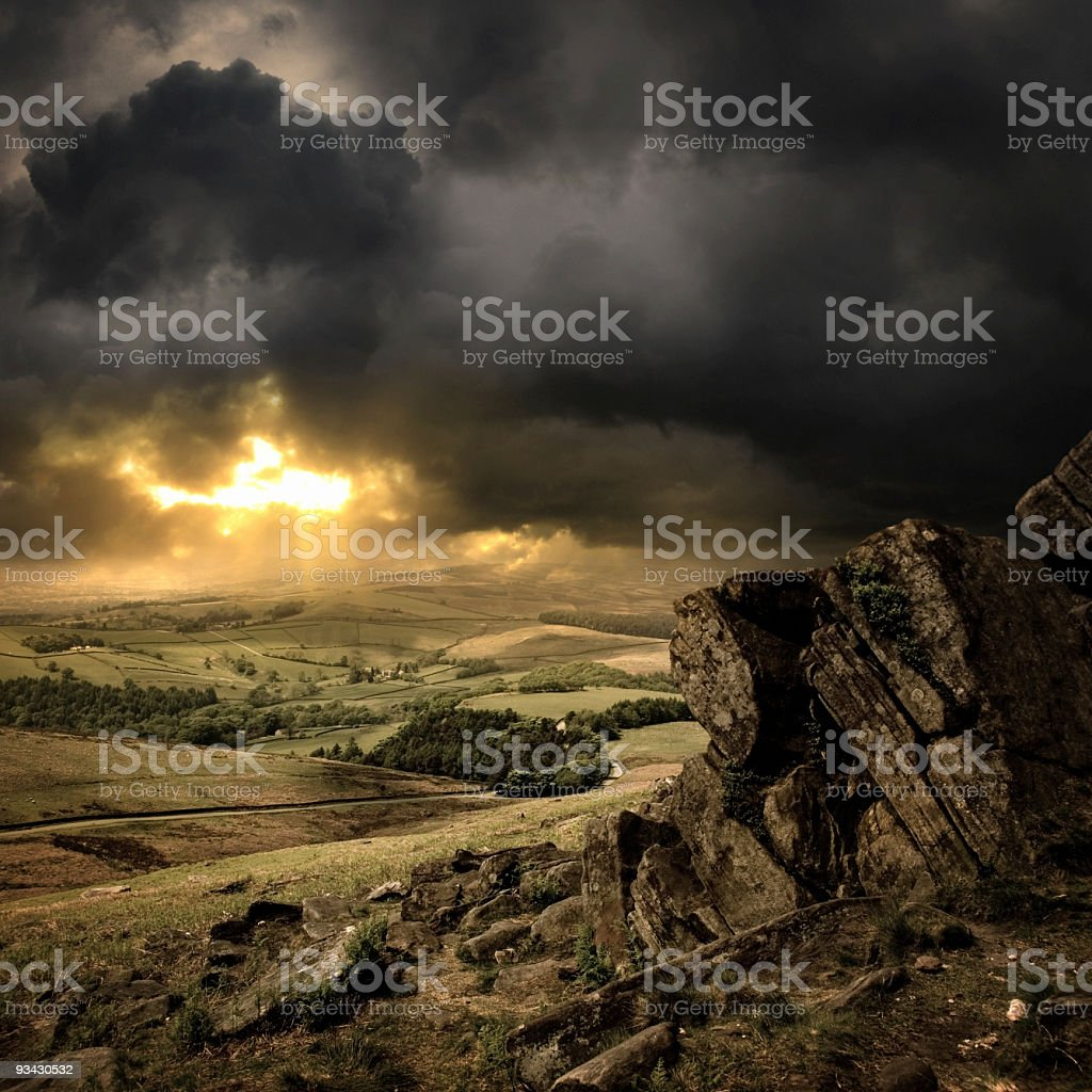 Peak District stock photo