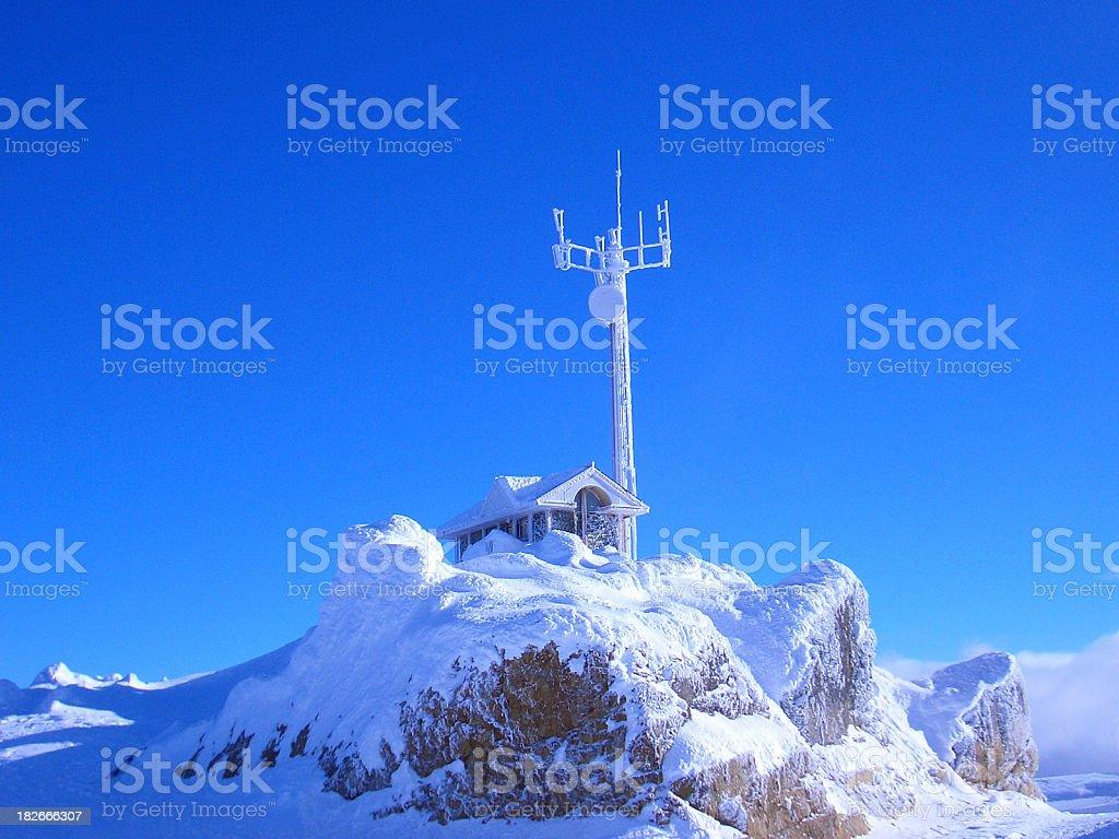 Peak Hut royalty-free stock photo