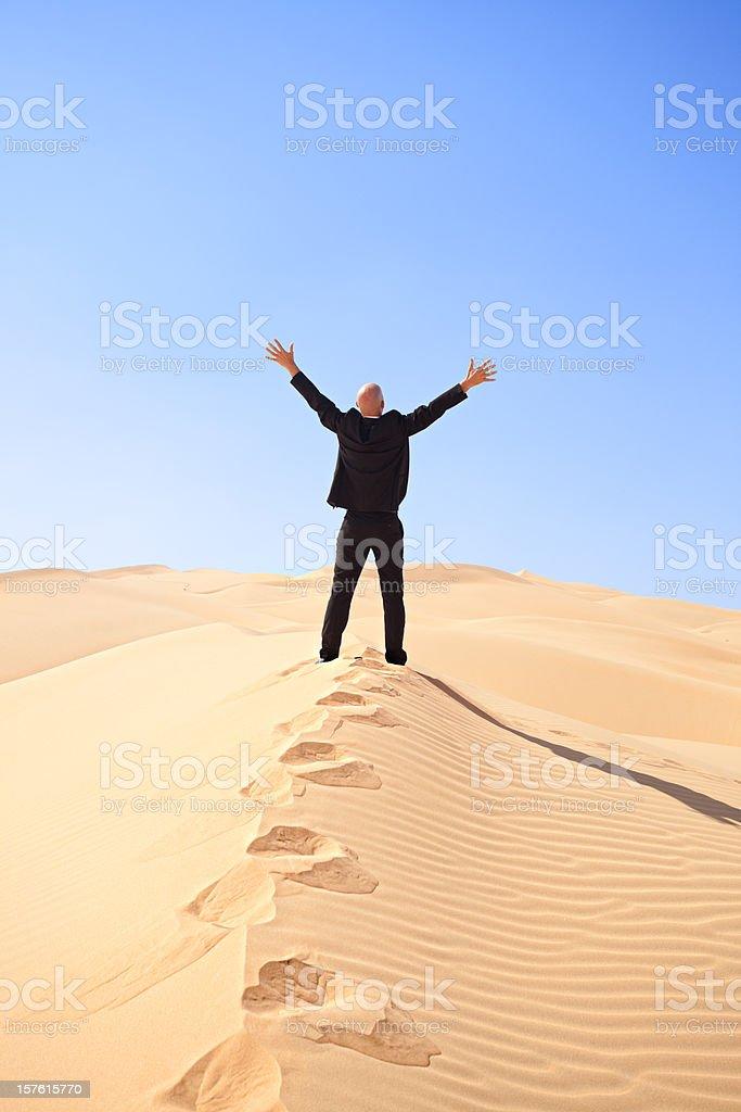 peak of success royalty-free stock photo