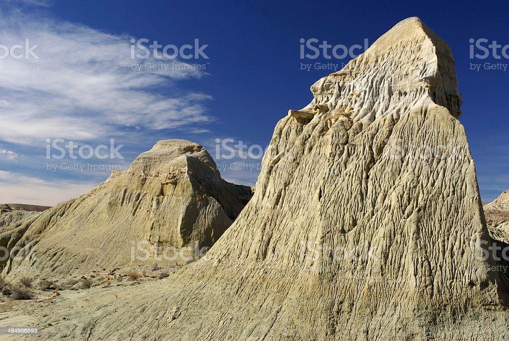 Peaks in Patagonia stock photo