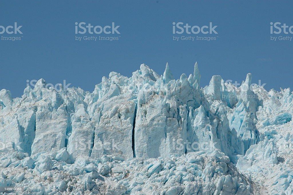 Peaks of Ice stock photo