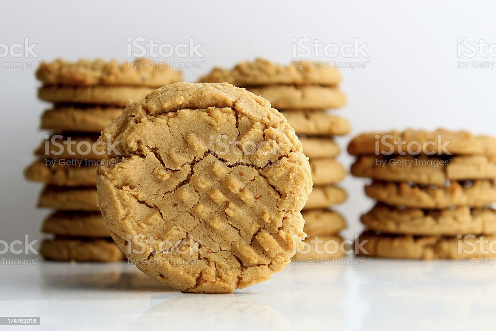 Peanut Butter Cookie royalty-free stock photo