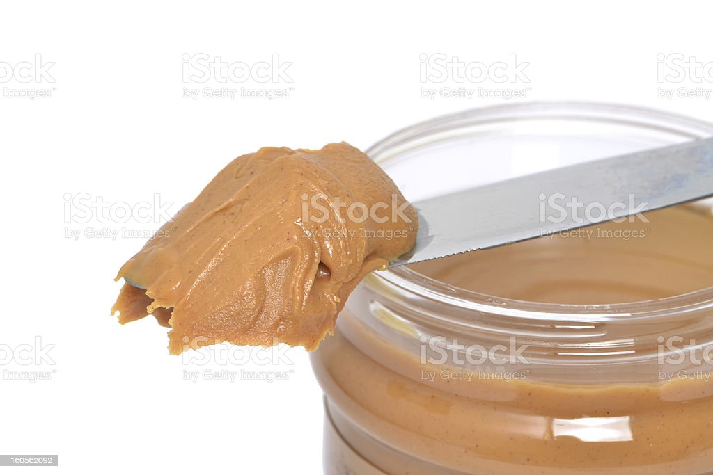 Peanut Butter Snack royalty-free stock photo
