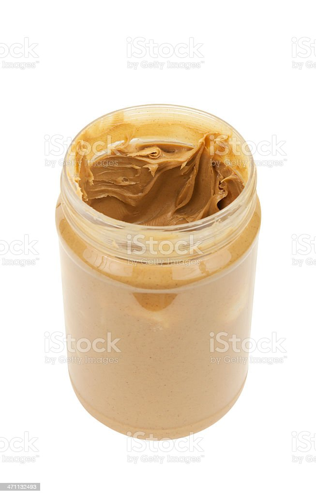 Peanut Butter with Path royalty-free stock photo
