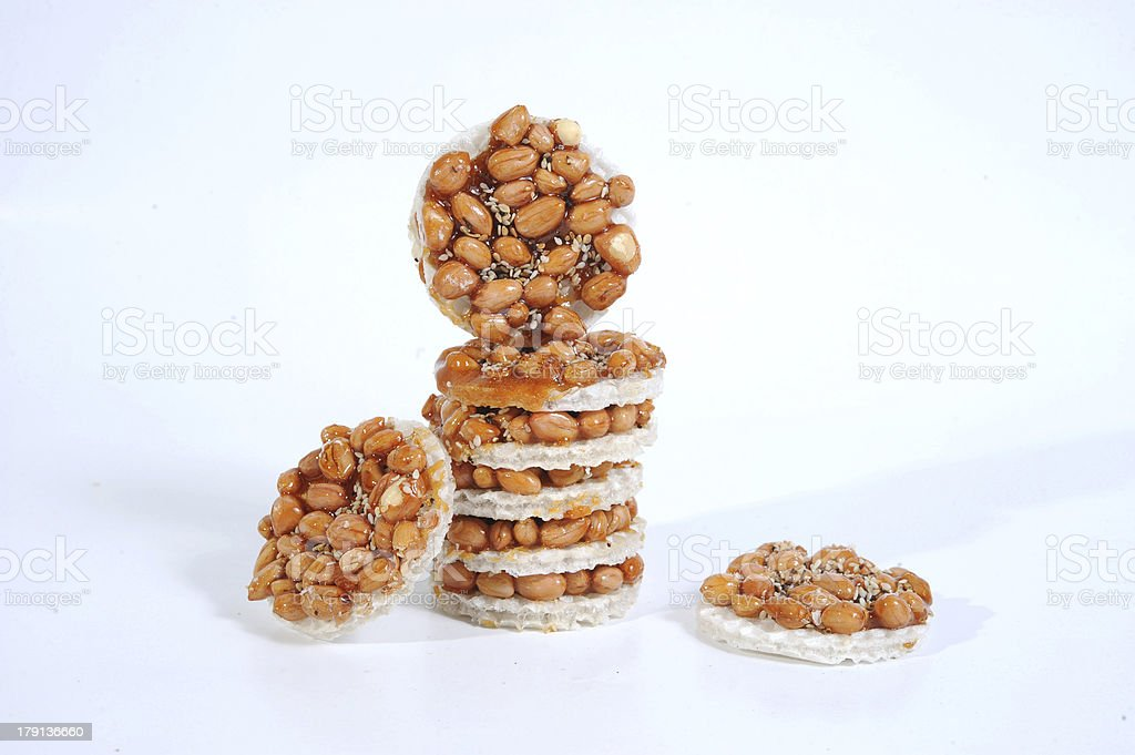 Peanut candies royalty-free stock photo