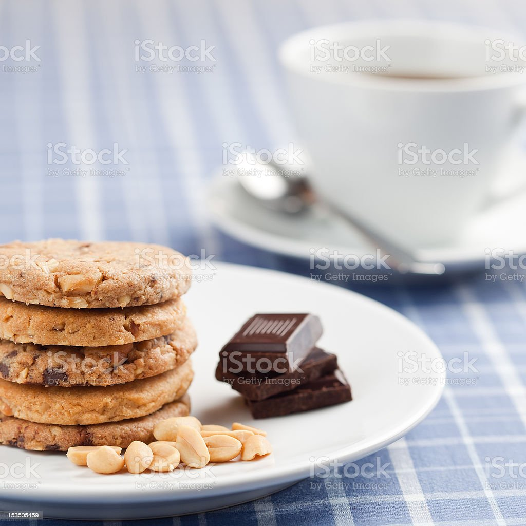 Peanut cookies royalty-free stock photo