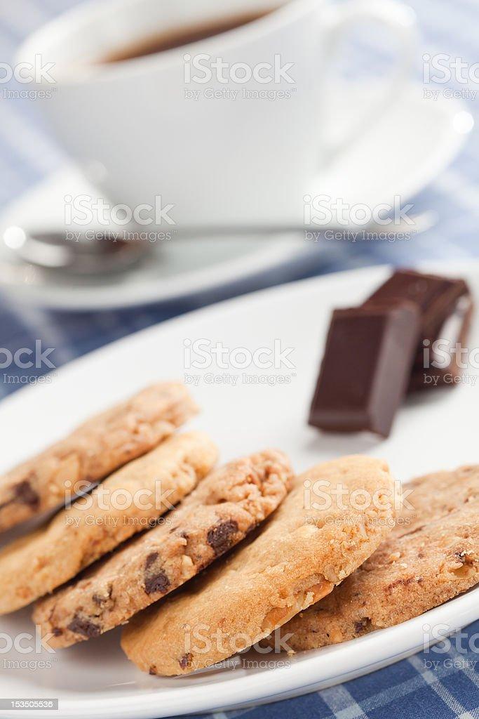 Peanut cookies. royalty-free stock photo