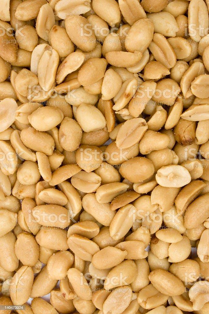 Peanut Texture royalty-free stock photo