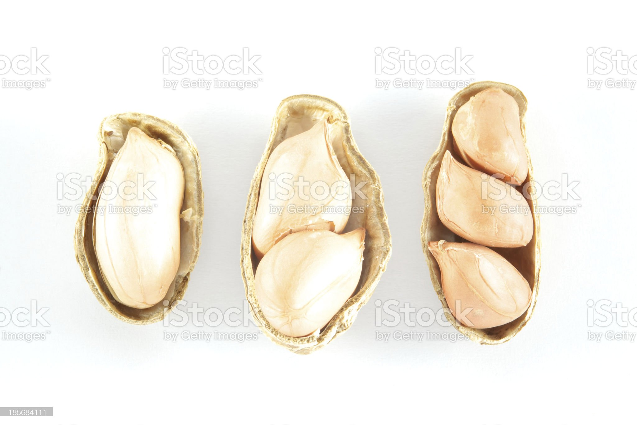 Peanuts 123 royalty-free stock photo
