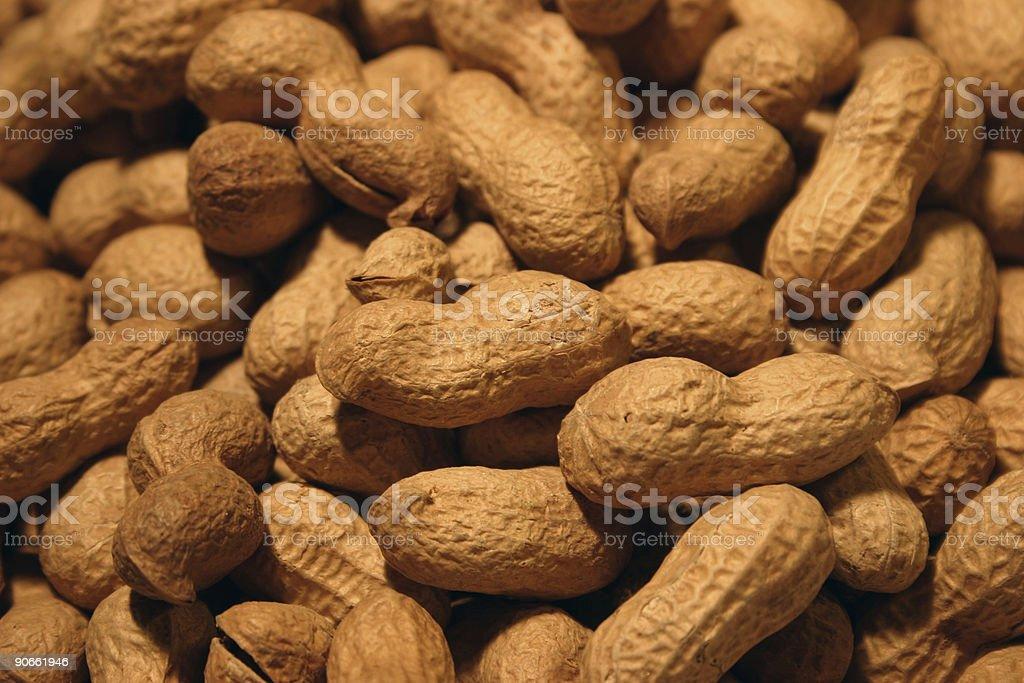 Peanuts background 1 royalty-free stock photo