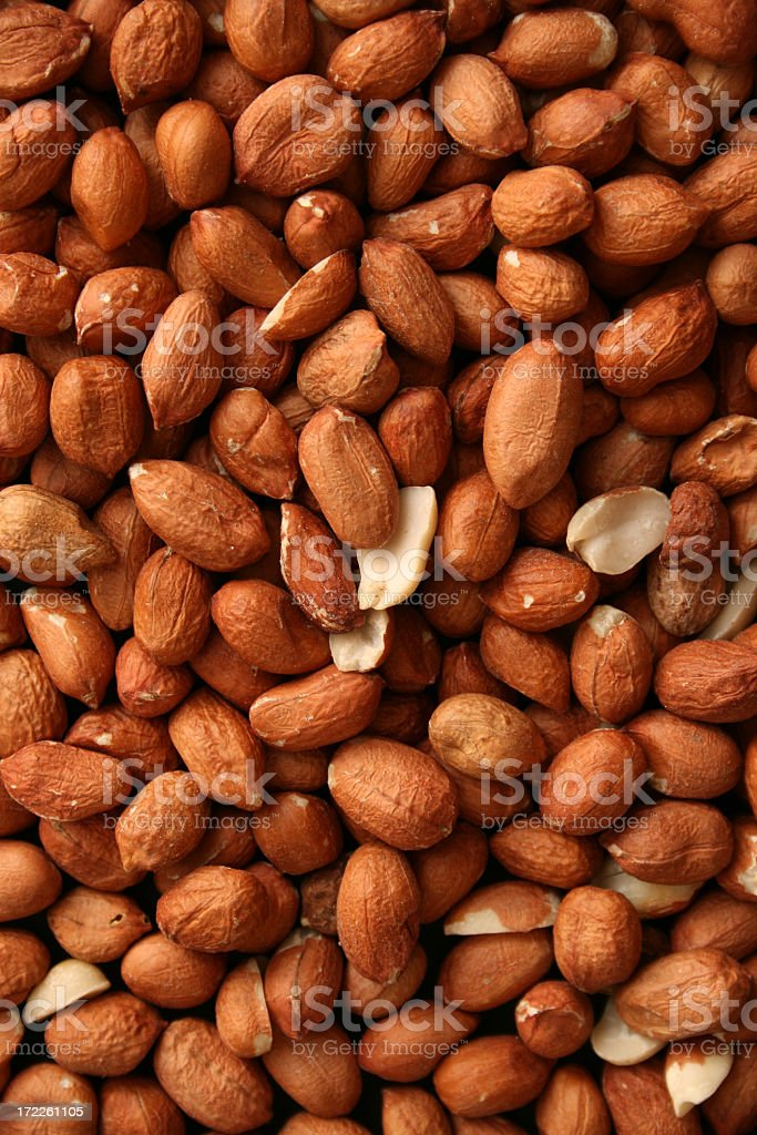 Peanuts background royalty-free stock photo