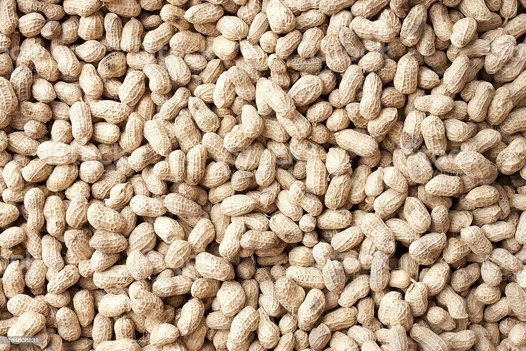 Peanuts background royalty-free stock photo