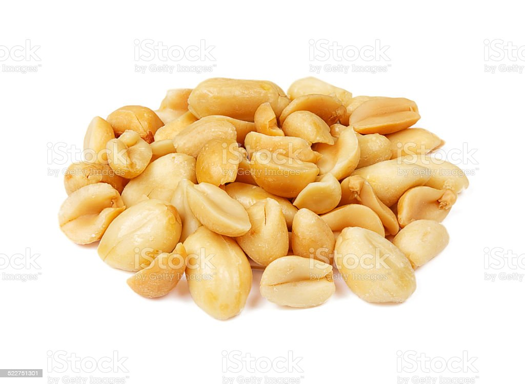 peanuts group isolated stock photo