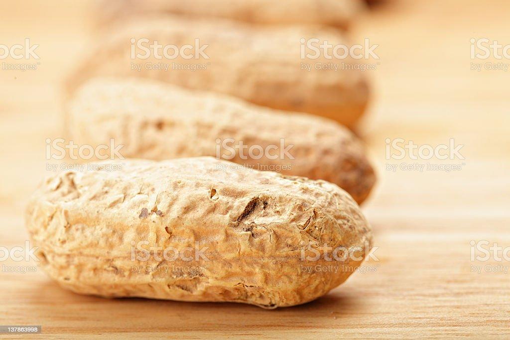 Peanuts in shells royalty-free stock photo
