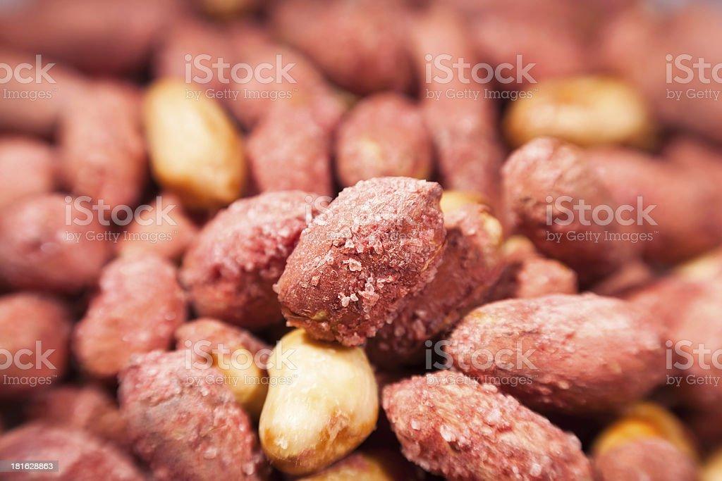 peanuts macro royalty-free stock photo