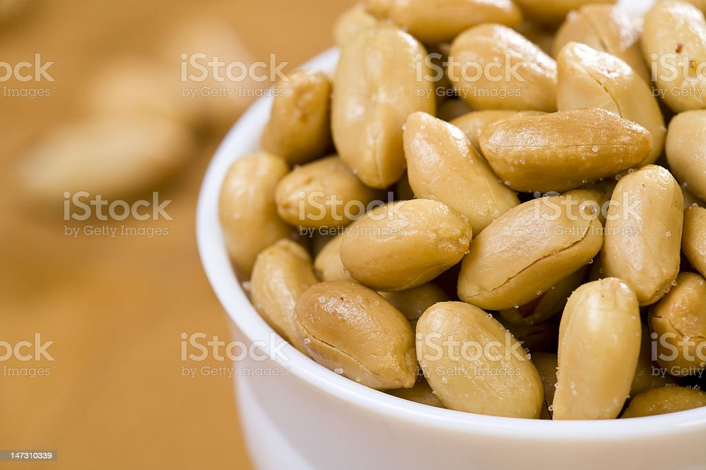 Peanuts stock photo