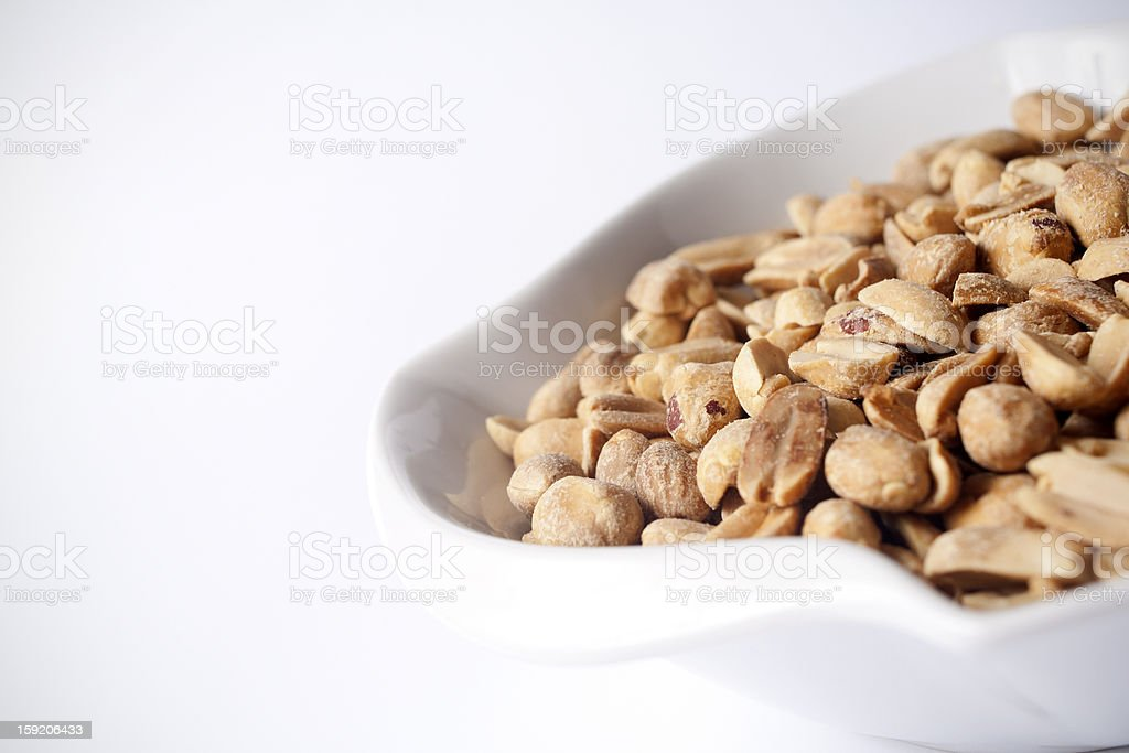 Peanuts royalty-free stock photo