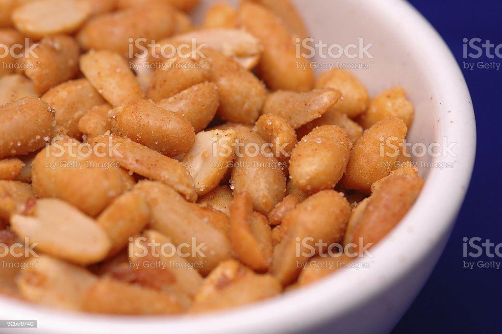 BBQ Peanuts royalty-free stock photo