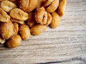 Peanuts with honey