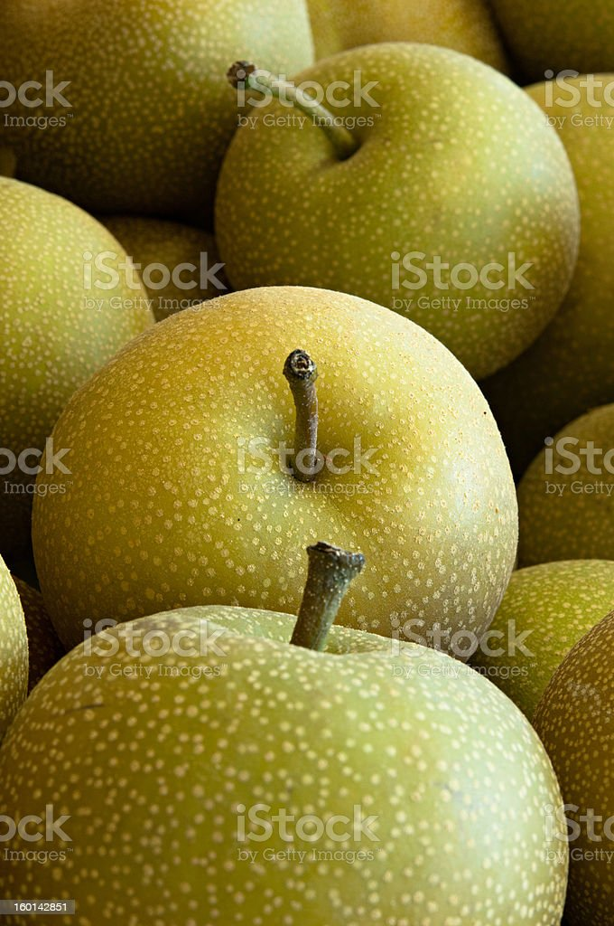 Pear Apples stock photo