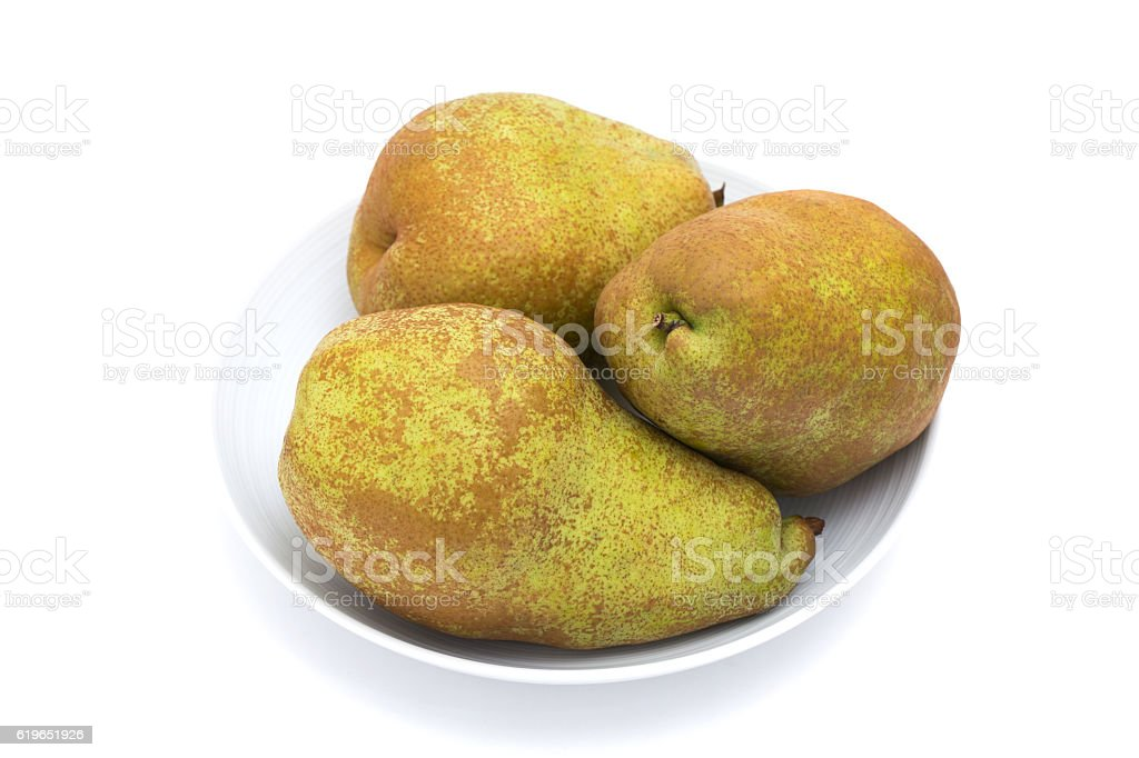 Pear ballad stock photo