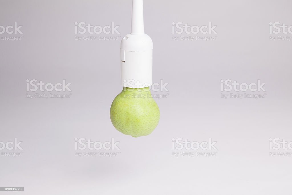 Pear bulb stock photo