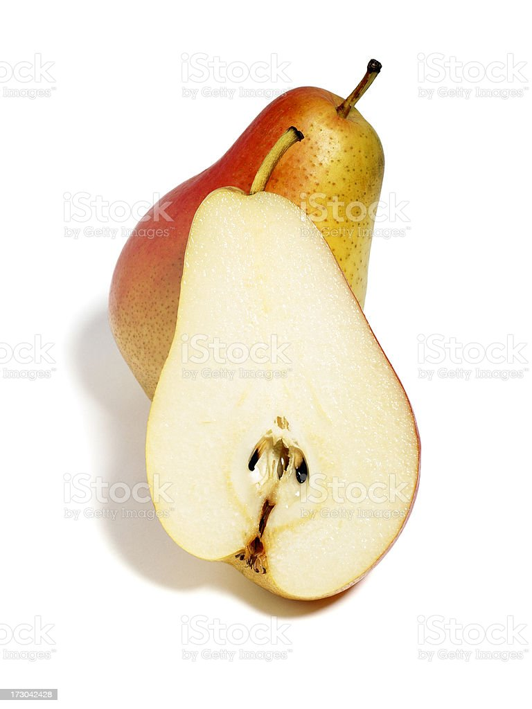 Pear duo stock photo