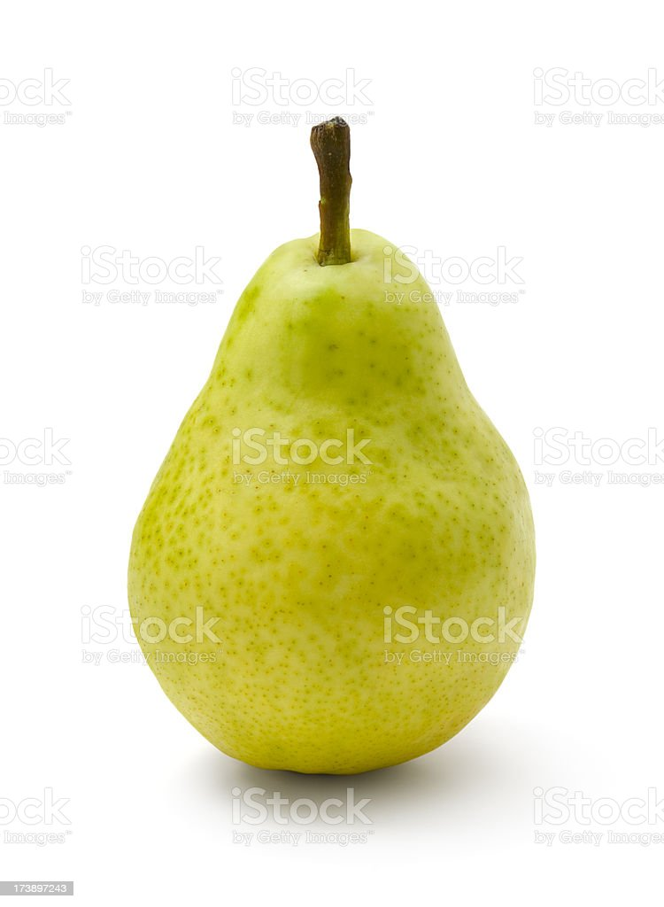Pear (CLIPPING PATH included) stock photo