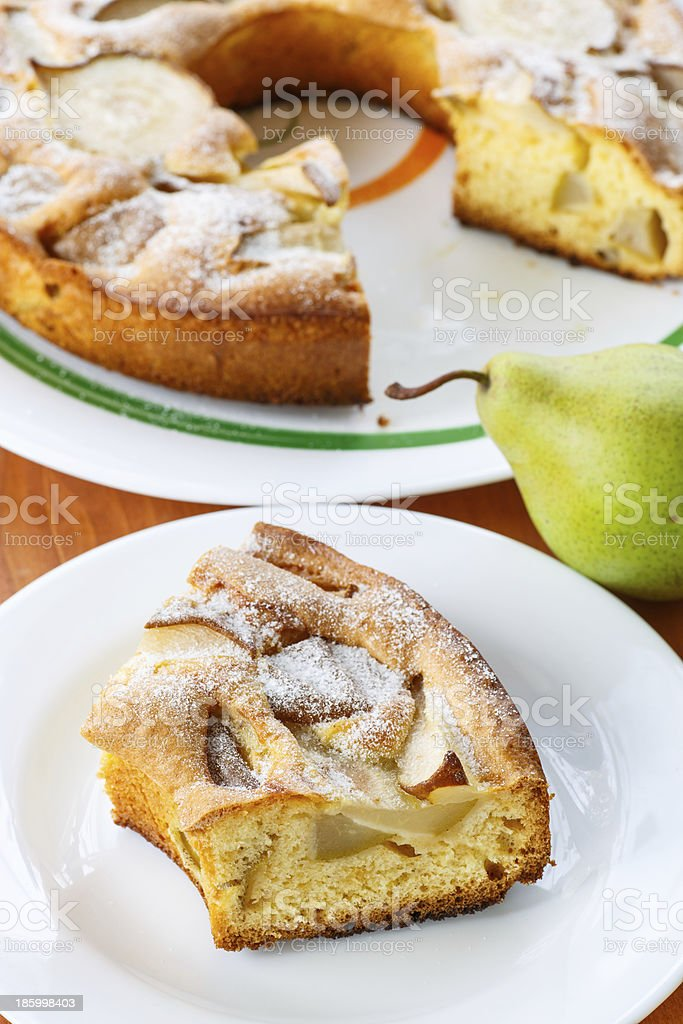 pear pie royalty-free stock photo