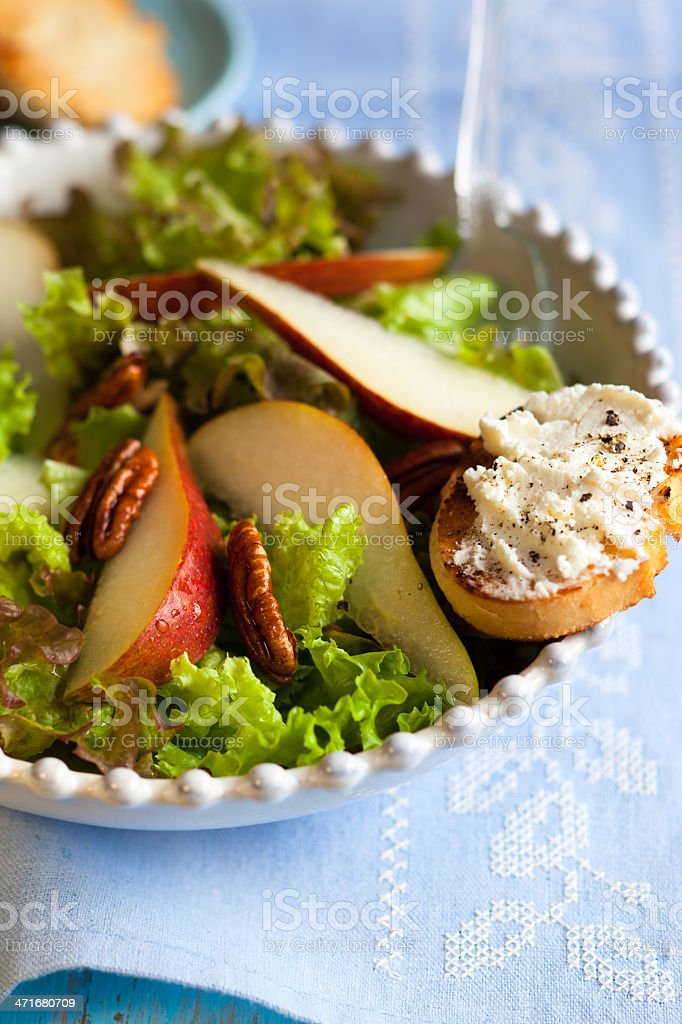 pear salad royalty-free stock photo