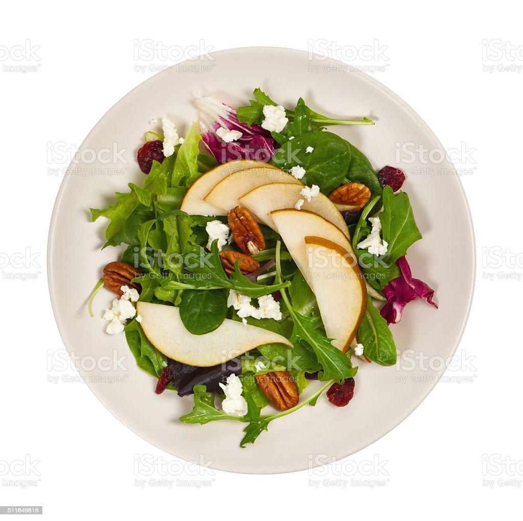 Pear Salad stock photo