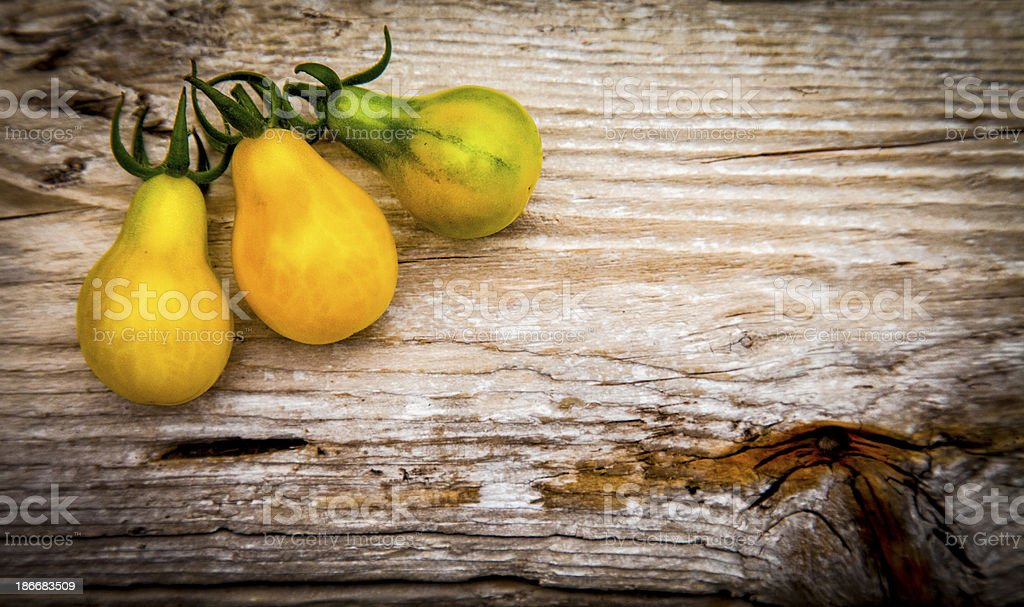 Pear Tomatoes royalty-free stock photo