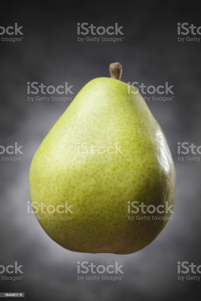 Pear With Copy Space stock photo