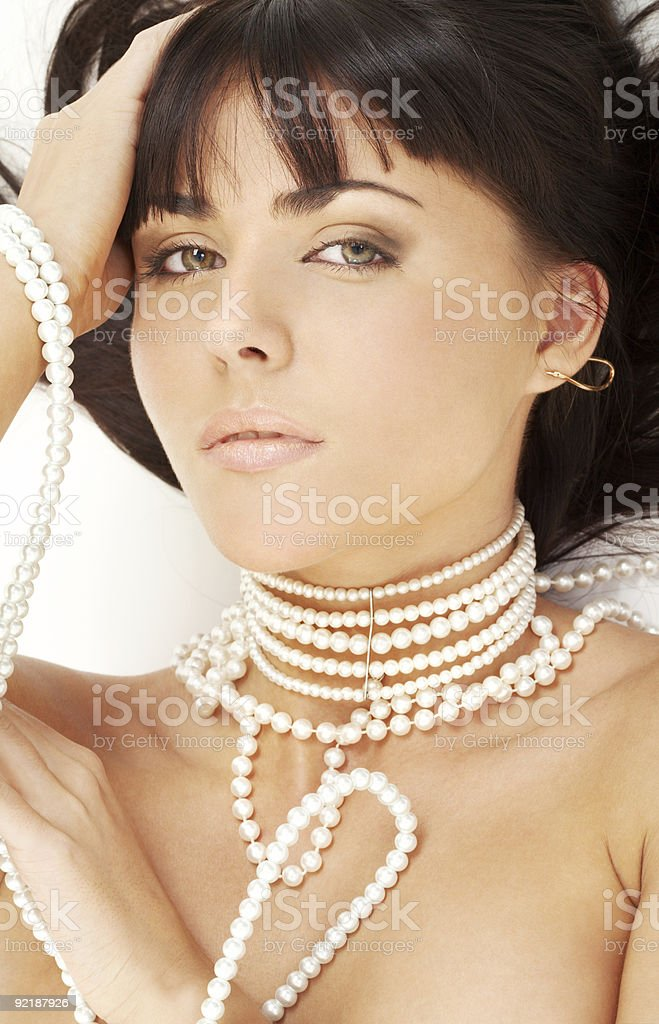 pearl desire royalty-free stock photo